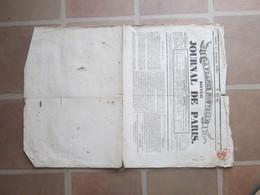 France Nouvelle - Nouveau Journal De Paris - 27 Juillet 1830 - Censuré - Giornali