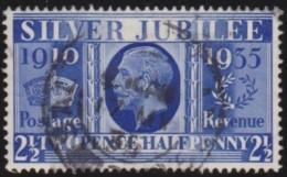 Engeland   .     Yvert       .   204        .    O    .     Gebruikt   .    /    .     Cancelled - 1902-1951 (Koningen)