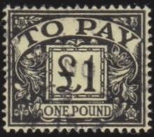 Engeland   .     Yvert       .   Taxe 65        .    O    .     Gebruikt   .    /    .     Cancelled - Strafportzegels