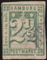 Hamburg .    Michel     .     9     .    O    .     Gebruikt - Hamburg