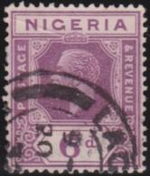 Nigeria     .     SG       .   25a      .    O    .     Gebruikt - Nigeria (...-1960)