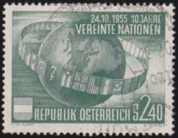 Oostenrijk     .     Yvert        .   855    .    O    .     Gebruikt - 1945-60 Afgestempeld