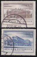 Oostenrijk     .     Yvert        .   853/854     .    O    .     Gebruikt - 1945-60 Afgestempeld