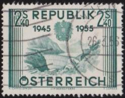 Oostenrijk     .     Yvert        .   849    .    O    .     Gebruikt - 1945-.... 2de Republiek