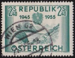 Oostenrijk     .     Yvert        .   849    .    O    .     Gebruikt - 1945-60 Afgestempeld