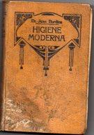Libro Higiene Moderna Juan Bardina - Salud Y Belleza
