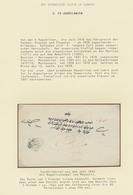"""28395 Türkei - Stempel: 1840-1912, Collection On 17 Exhibition Leaves """"Ottoman Post In Europe, Bosnia, Mon - Turkey"""