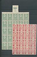 28396 Türkei - Besonderheiten: 1900/1920 (ca.), FISCALS, Accumulation Of Apprx. 670 Stamps In A Stockbook, - Turkey