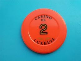 Jeton Casino De Luxeuil 2 F - Casino