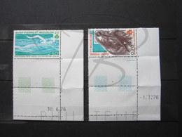 VEND TIMBRES DE S.P.M. N° 450 + 451 + BDF COINS DATES , NEUF SANS CHARNIERE !!! - Neufs