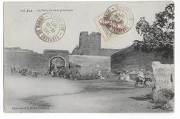 MAROC ESPAGNOL- 1911 - CARTE Avec OBLITERATION Des TROUPES FRANCAISES à BER-RECHID=> BORDEAUX - Marocco Spagnolo
