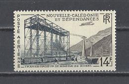 NOUVELLE-CALEDONIE . YT  PA  66  Neuf **  Transbordeur De Minerai De Nickel à Thio  1955 - Poste Aérienne