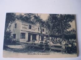 Cannes - Ile Saint Honorat // Restaurant De Lerins - Chez Frederic (animee) 19?? Rare - Cannes