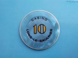 Jeton Casino De Lons Le Saunier    10 F - Casino