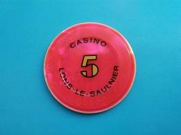 Jeton Casino De Lons Le Saunier    5 F - Casino