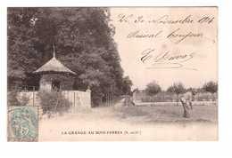 91 La Grange Au Bois Yerres Cpa Carte Animée 1904 - Yerres