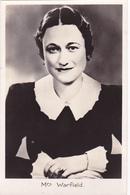 CPA 37 MONTS - Wallis Simson Warfield Le Jour Du Mariage Au Château De Candé Le 3 Juin 1937 Avec S.A Le Duc De Windsor - Autres Communes