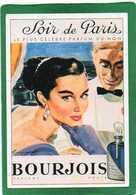 -BOURJOIS  Soir De Paris  PARFUM   1957   CPM - PUB  Edit Atlas - Pubblicitari