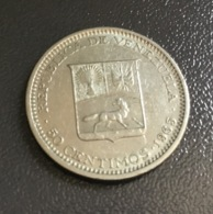 "VENEZUELA - 1965 - Moneta 50 Centesimi ""Bolívar "" , Condizioni Ottime - Venezuela"