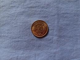 50 Centimes MORLON 1932 B DATE RECHERCHEE, MONNAIE EN SPLENDIDE - G. 50 Centimes