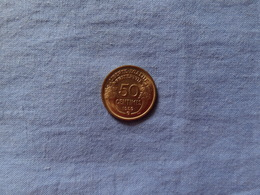 50 Centimes MORLON 1932 B DATE RECHERCHEE, MONNAIE EN SPLENDIDE - Frankreich