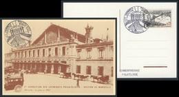 France Rep. Française 1967 Postcard / Postkarte / Carte Postale - Gare Marseille (1902) / Railway Station / Bahnhofe - Treinen