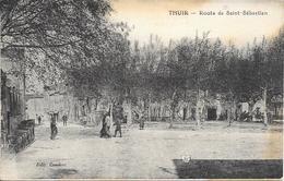 CPA - THUIR - Route De Saint Sébastien. - Altri Comuni