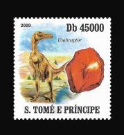 Sao Tome Dinosaur Prehistoric Animals Minerals 1v Stamp MNH Michel:4134 - Non Classificati