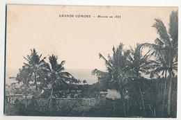 GRANDE COMORE - MORONI EN 1885 - Comoros