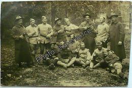 CPA Carte Photo Guerre 14-18 Militaire Alcool Americain Français Régiment US Military WW1 - Guerre 1914-18