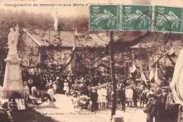 55 - MEUSE / 551837 - Ecurey - Inauguration Du Monument Aux Morts - Francia