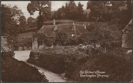 Old School House, Cockington, Torquay, Devon, C.1910s - Harvey Barton RP Postcard - Torquay
