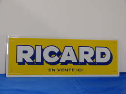 """Plaque Métal """"RICARD"""" 2018. - Plaques Publicitaires"""