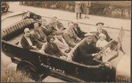 Charabanc, Ilfracombe, Devon, C.1920 - RP Postcard - Torquay