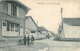 RARE PRUNAY CENTRE DU VILLAGE EDITION  BLIN CAFE RESTAURANT - France