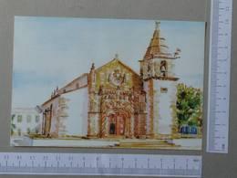PORTUGAL - IGREJA MATRIZ -  GOLEGÃ -   2 SCANS  - (Nº22737) - Santarem