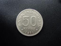 INDONÉSIE : 50 RUPIAH  1971  KM 35    SUP+ / SPL - Indonésie