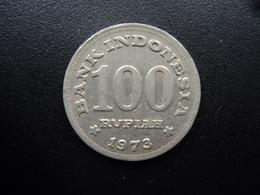 INDONÉSIE : 100 RUPIAH  1973  KM 36    SUP - Indonésie