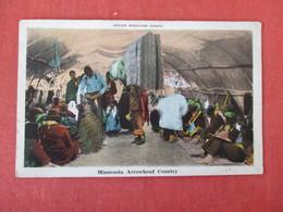 Indian Medicine Dance Minnesota Arrowhead Country    Ref 2963 - Indiens De L'Amerique Du Nord