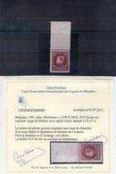 N° 291E Xx (MNH) + Bord De Feuille + Certificat MICHAUX - Unused Stamps
