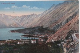 MONTENEGRO 1917  CARTE POSTALE DE CATTARO - Montenegro