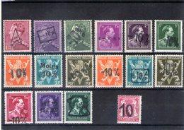 N° 724A/P + 724Q Xx (MNH) - Belgio