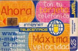 TARJETA TELEFONICA DE URUGUAY, 205a (200) REGULAR - Uruguay