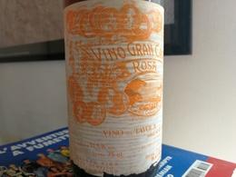 GRAN VINO BIANCO CARUSO RAVELLO COSTIERA AMALFITANA - ANNI 70 - Wine
