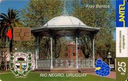 TARJETA TELEFONICA DE URUGUAY, 236a (203) RIO NEGRO - Uruguay