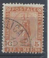 San Marino - 1899 - Usato/used - Ordinari - Mi N. 33 - Gebruikt