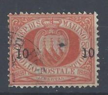 San Marino - 1892 - Usato/used - Ordinari - Mi N. 11 - Gebruikt