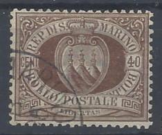 San Marino - 1892 - Usato/used - Ordinari - Mi N. 17 - Gebruikt