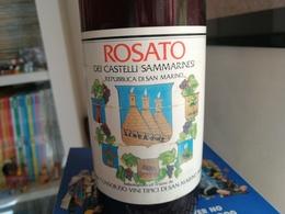 VINO ROSATO CASTELLI DI SAN MARINO - 1982 - Wine