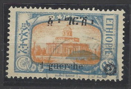 Etiopia - 1926 - Usato/used - Sovrastampati - Mi N. B92 - Ethiopia